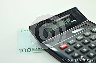 100 Euro + Calculator