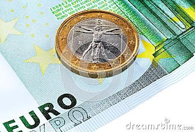 100 euro en 1 euro