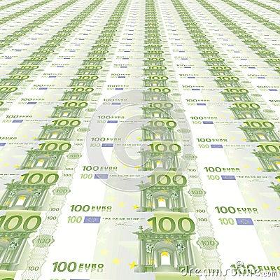 100 euroAchtergrond