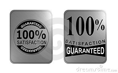 100 garanterad tillfredsställelse