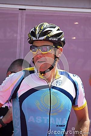 100° Giro d  Italia - Lance Armstrong Editorial Photography