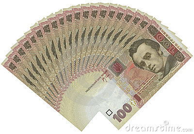 100 Kopiyok Ukranian Bills