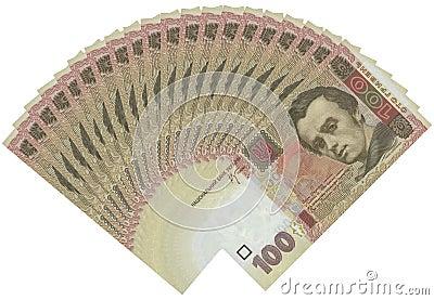 100 Kopiyok Ukranian Bills