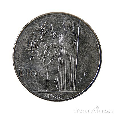 100 liras italianas