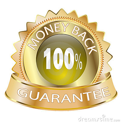 100 Money Back Guarantee Icon