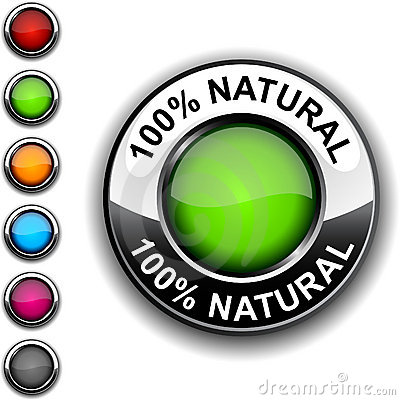 100  Natural  button.