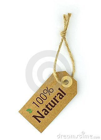 100  Natural Label