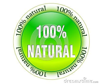 100  natural web glossy icon