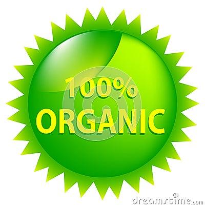 100 Percent Organic.