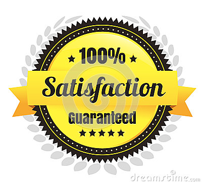 100 Percent Satisfaction Ecommerce Badge