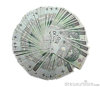 100 polish zloty