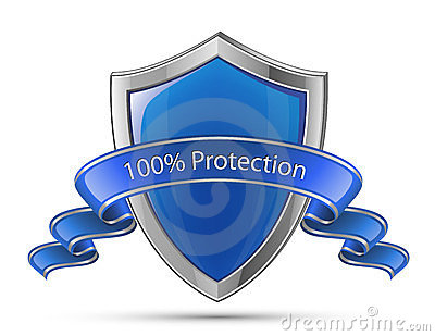 100  Protection. Shield symbol