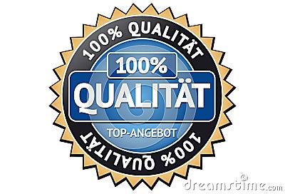 100  Quality Label