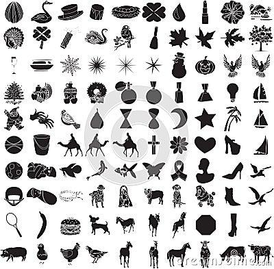 100 Reeks 2 van het pictogram