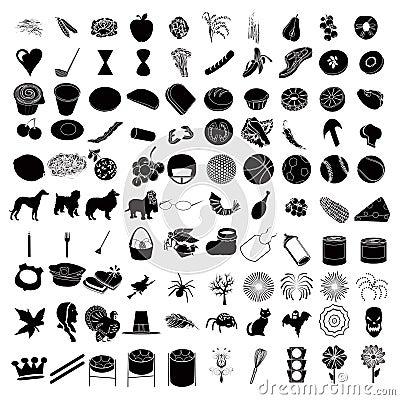 100 Reeks 3 van het pictogram