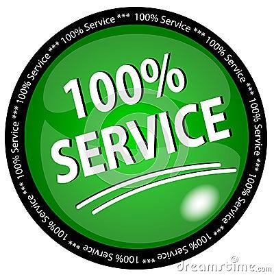 100  Service Button