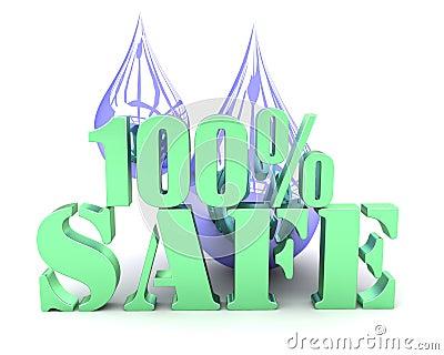 100  veilig water