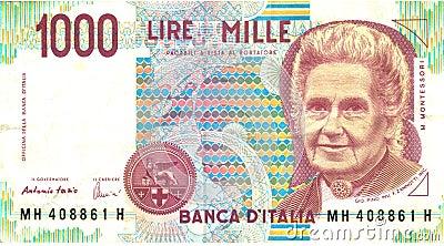 1000 liras