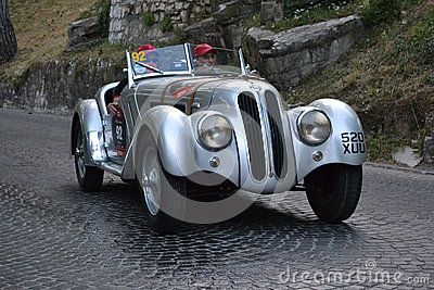 1000 miglia race 2011 Editorial Stock Image