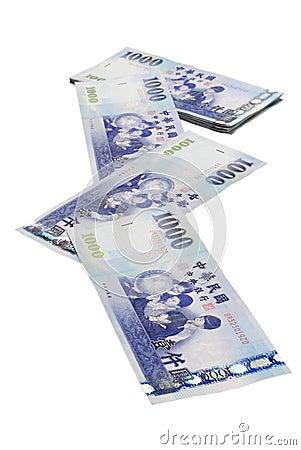 1000 New Taiwan Dollar bill