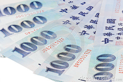 1000 New Taiwan Dollar bill