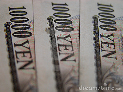 10000 yen bills
