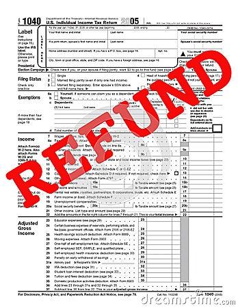1040 refund