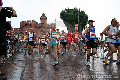 10km of Perpignan Editorial Stock Image