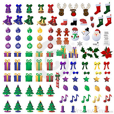 Free 110 Christmas Icons Stock Images - 6567664