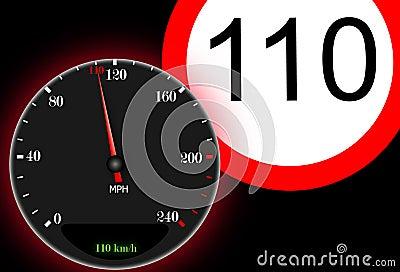 110 km / h maximum speed