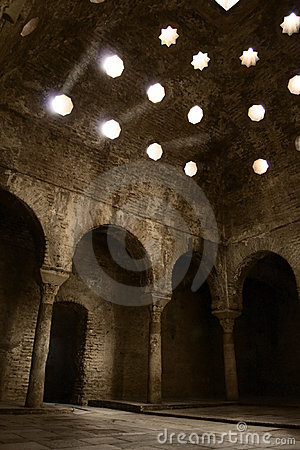 11th century Arab Baths, Spain