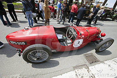 11th Vintage Racing Circuit of Genoa Editorial Photography