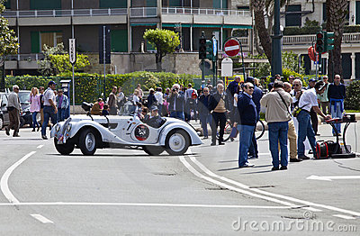 11th Vintage Racing Circuit of Genoa Editorial Stock Image
