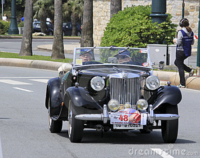 11th Vintage Racing Circuit of Genoa Editorial Photo