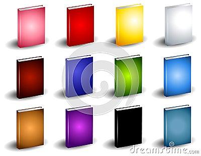 12 Colourful Book eBook Covers