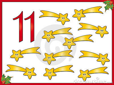 12 days of christmas: 11 comet