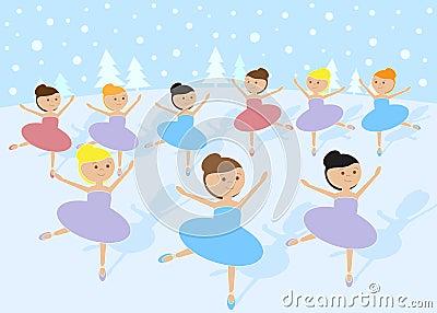 12 Days of Christmas: 9 Ladies Dancing
