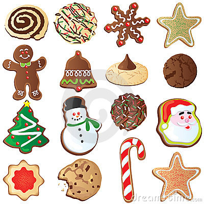 12 Days of Cute Christmas cookies