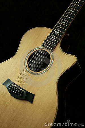 Guitar 12 string guitar chords : 12-string Guitar Royalty Free Stock Photos - Image: 10877798