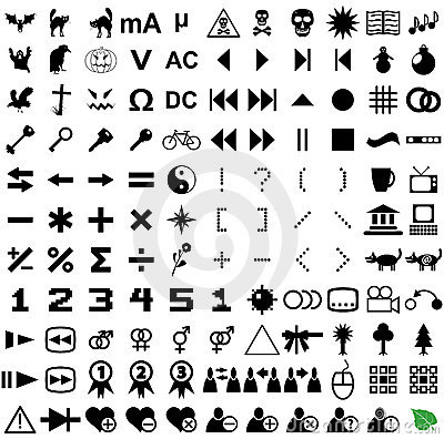 121 vector pictograms.
