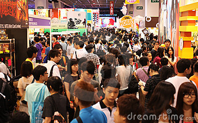 12th Ani-Com & Games Hong Kong Editorial Stock Image