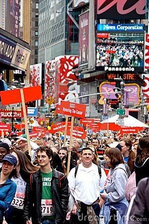 12th EIF REVLON Run/Walk for Women, NY Editorial Image