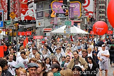 12th EIF REVLON Run/Walk for Women, NY Editorial Photography