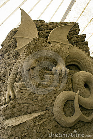 12th International Festival of Sand Sculptures Editorial Photography