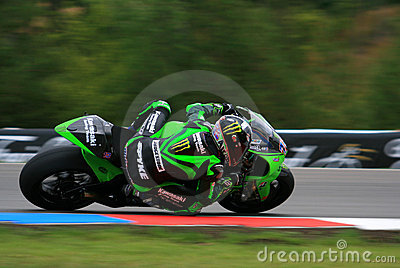 13 Anthony West - Kawasaki Racing Team Editorial Image