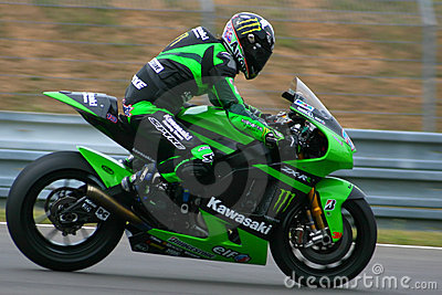 13 Anthony West - Kawasaki Racing Team Editorial Stock Photo