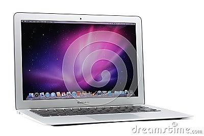 13-inch MacBook Air Editorial Stock Photo