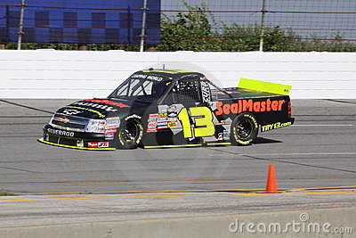 13 Johnny Sauter Qualifying NASCAR Truck Series Editorial Stock Photo