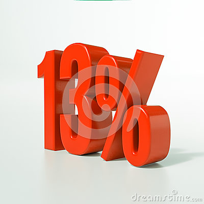 Free 13 Red Percent Sign Stock Photos - 84265713