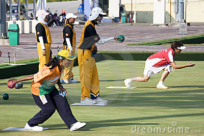 13th Asia Pacific Bowls Championship 2009 Editorial Image